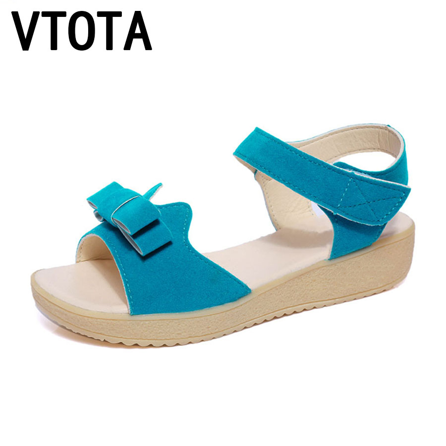 VTOTA  Fashion Women Sandals Summer Shoes For Women Casual Shoes Peep Toe Wedges Platform Sandals sandalia mujer Women Shoes B3 vtota summer shoes woman platform sandals women soft leather casual peep toe gladiator wedges women shoes zapatos mujer a89