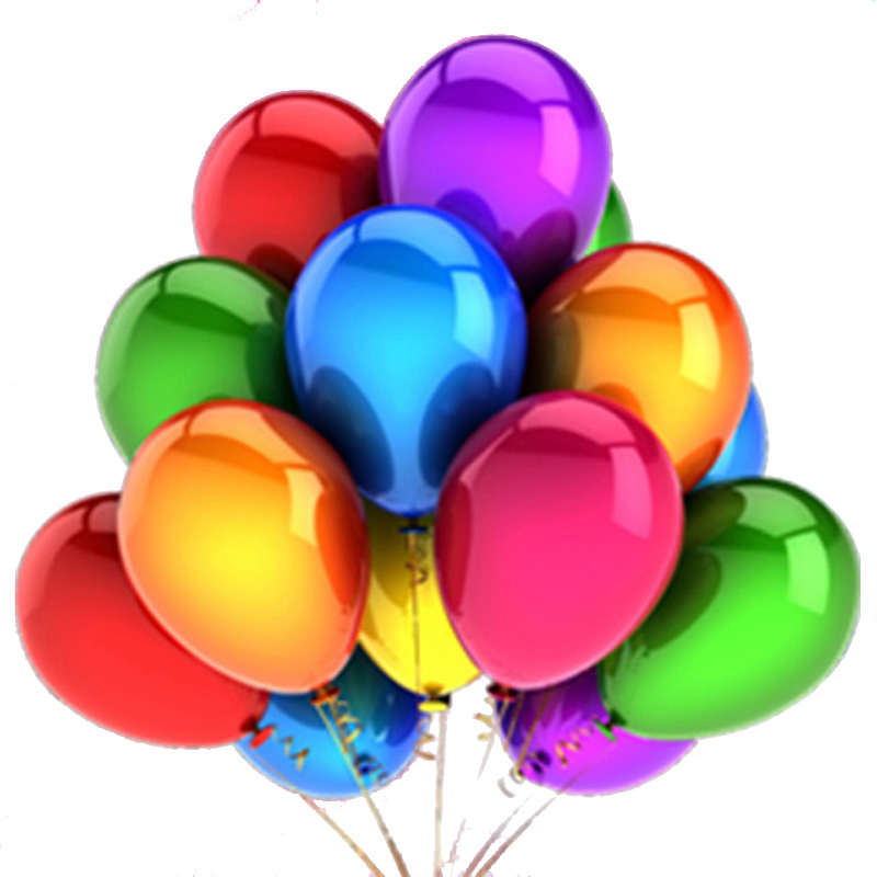 10Pcs 12inch Glossy Metal Pearl Latex Colorful Balloons For Birthday Party And Wedding 5