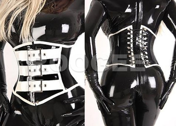 Erogenous Latex Corsetry 0.8mm Thickness Rubber