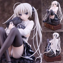 купить 15CM Anime PVC Action Figure Sora  ALPHAMAX SKYTUBE Yosuga no Sora Lovely Girl Kasugano Sora Model Collectible Doll Toys Gift по цене 1627.63 рублей
