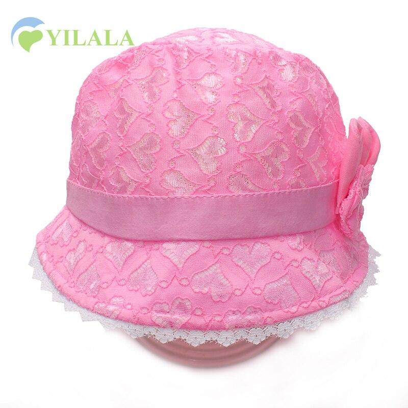 الدانتيل الطفل الفتيات قبعة بارد - ملابس للأطفال الرضع