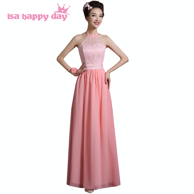 2afb927a1ce Sin mangas de cuello halter sexy girls dulce 16 vestido de fiesta semi  formal octavo grado