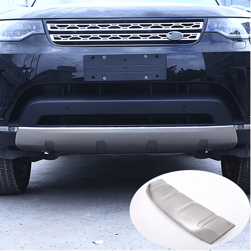 Free Shipping 304 Stainless Front Rear Bumper Plate