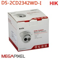 video surveillance ip camera 4MP WDR EXIR Turret Network Camera hikvision DS 2CD2343G0 I PoE 1080p HD Cam cctv security system