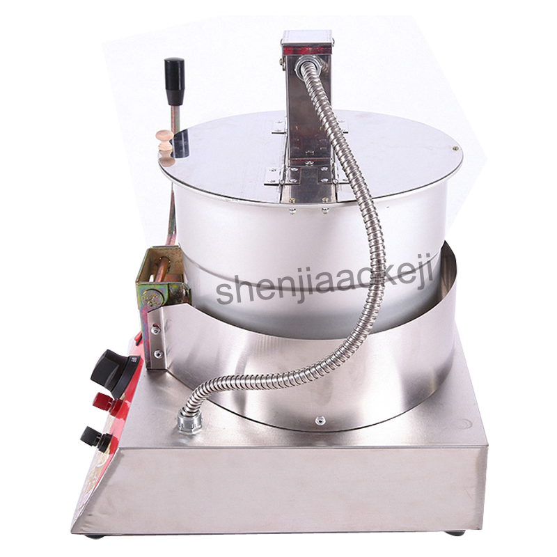 Single Pot Liquefied Gas electric popcorn machine Stainless Steel Popcorn Machine commercial popcorn machine New 1pc 10oz stainless steel 110v 220v electric commercial popcorn machine with temperature control