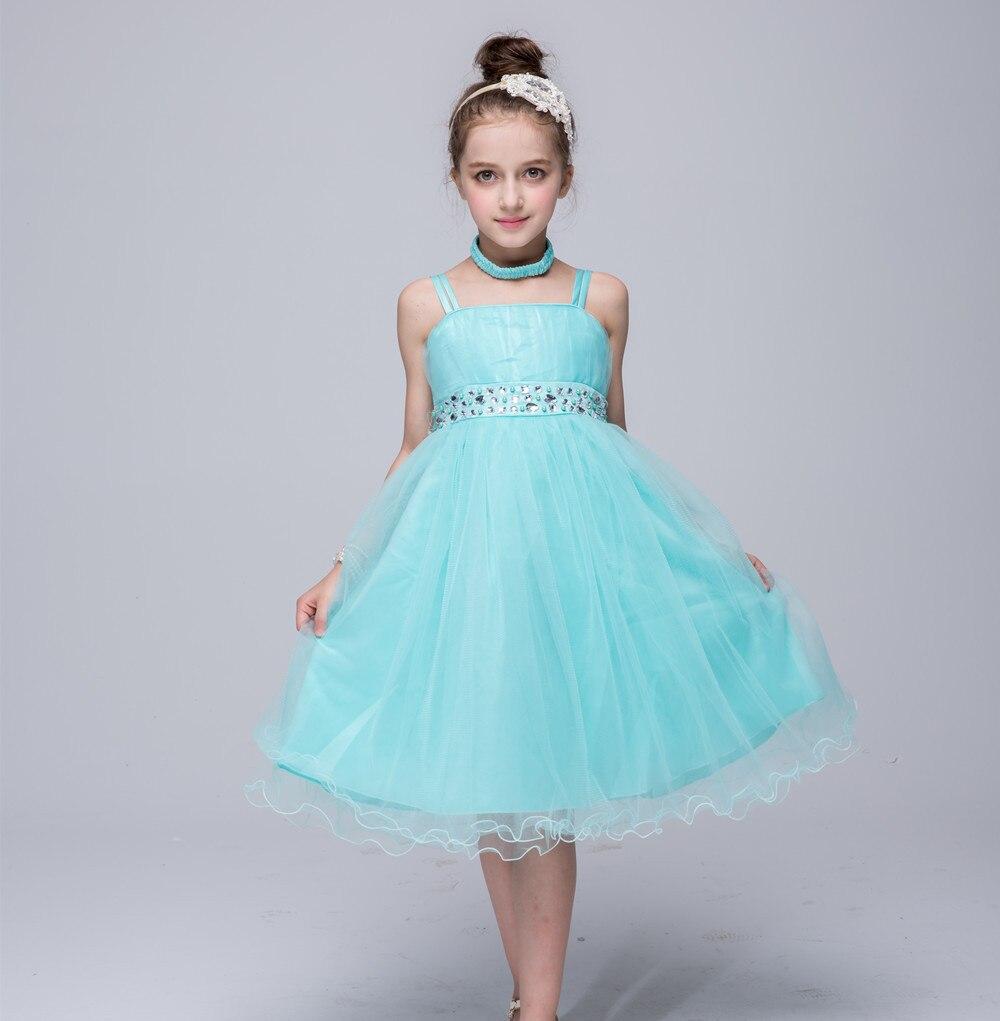 AiLe Rabbit 2018 Girls Princess Dress Tutu Sling Dress Bright ...