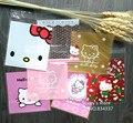 100 шт./лот Смешанного стиля Hello kitty пластиковые пакеты 10x10 cm пищевые самоуплотняющаяся сумки печенья мешки и упаковка