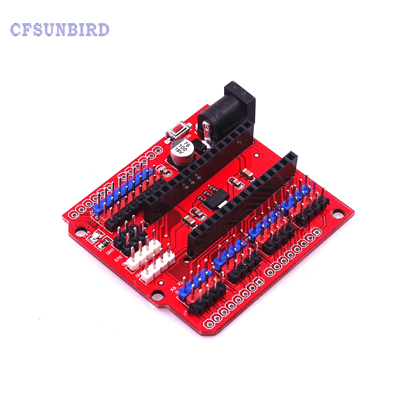 все цены на  CFsunbird NANO 3.0 Shield Expansion Board Expansion Sensor Shield Module for Arduino UNO Nano 3.0  онлайн