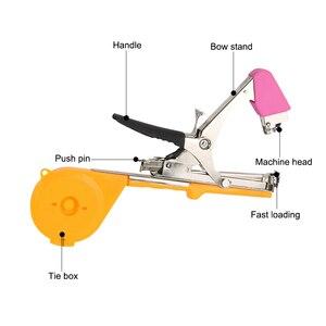 Image 4 - Садовые инструменты растительная завязывающая машина Tapener Tapetool ручная завязывающая машина упаковочная овощная стебель с 12 лента в рулоне для обрезки инструментов