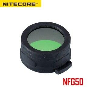 Image 2 - Nitecore NFR50 NFG50多色懐中電灯フィルター50ミリメートルのための適切なトーチヘッドの50ミリメートル