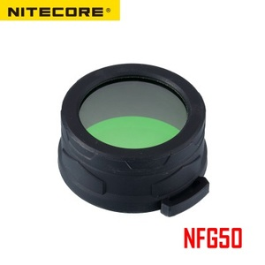 Image 2 - Nitecore NFR50 NFG50 Multicolour Flashlight Filter 50mm Suitable for Torch with Head of 50MM
