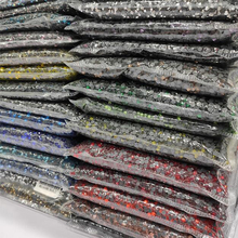 Wholesale Large Pack Clear Bright Stones ss6   ss30 Crystal AB Hotfix Rhinestones For Garment Accessories