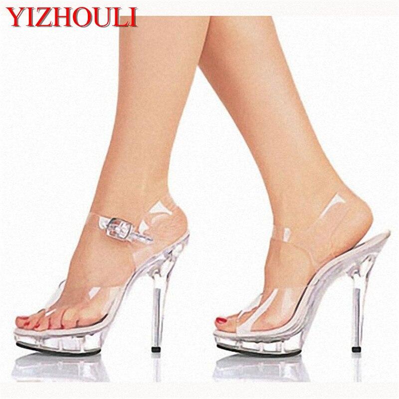 Обувь на высоком каблуке 13 см, женские сандалии на платформе со стразами, низкая цена, танцевальная обувь, пикантные туфли для стриптиза на в...