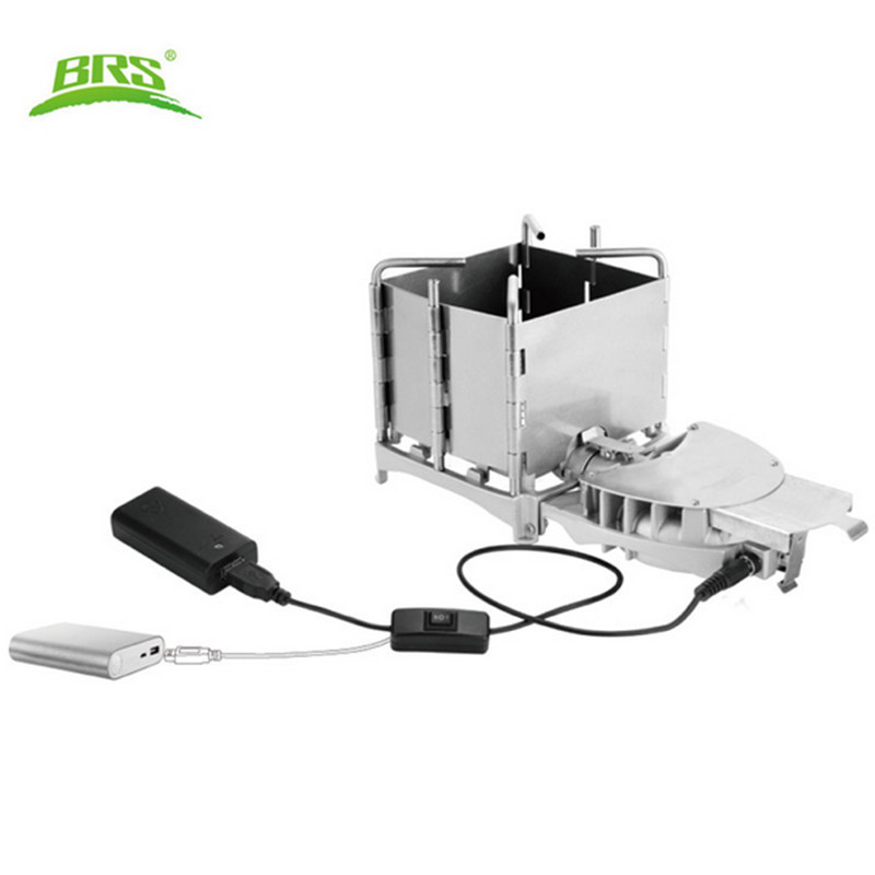 BRS Camping Stoves Portable Wood Burning Stove With Storage Box For Outdoor Backpacking Hiking Traveling Picnic