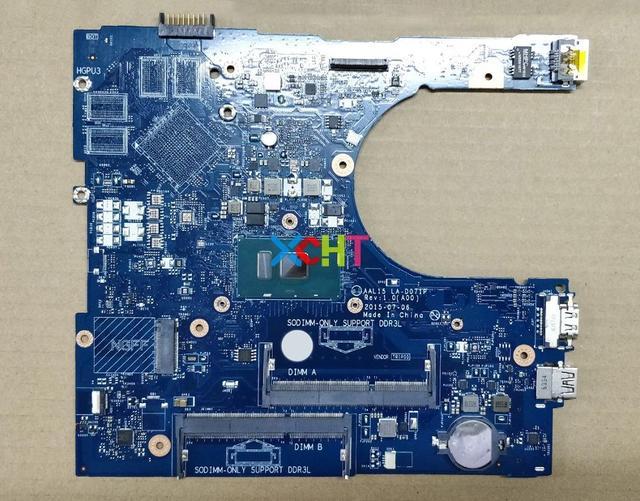 Dell Inspiron 15 5559 için RV4XN 0RV4XN CN 0RV4XN AAL15 LA D071P REV: 1.0 (A00) i7 6500U Laptop Anakart Anakart için Test