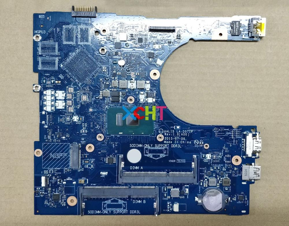 for Dell Inspiron 15 5559 RV4XN 0RV4XN CN 0RV4XN AAL15 LA D071P REV:1.0(A00) i7 6500U Laptop Motherboard Mainboard Tested-in Laptop Motherboard from Computer & Office
