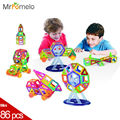 86Pcs Mini 3D DIY Magnetic Blocks Nano Building Model Block Children Toys Educational Construction Enlighten Bricks Toy For Kids