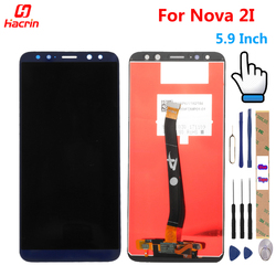 huawei Nova 2I LCD Display Touch Screen Test Good Digitizer Assembly Replacement Panel For Huawei Nova 2i RNE-L22