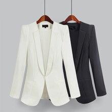 Sanishroly Spring Autumn Women Basic Suit Jackets Slim Business Suit Coat Lady L