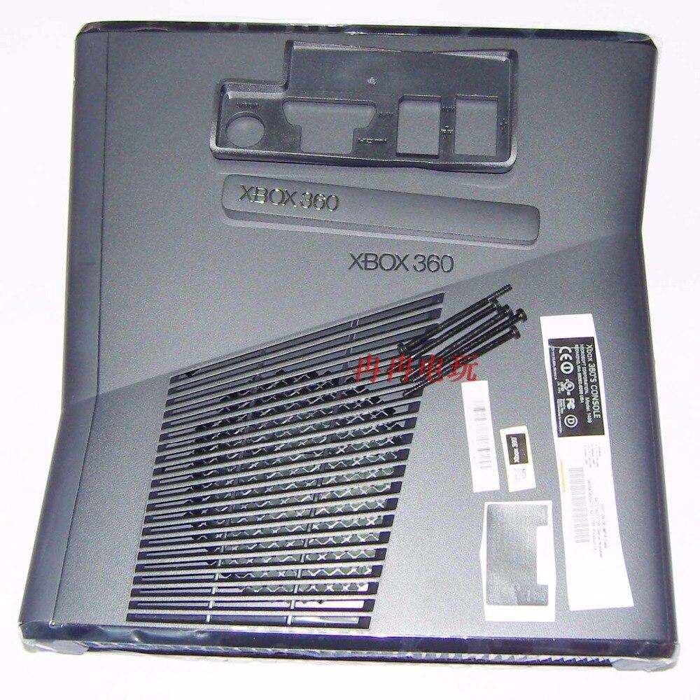 Boîtier de boîtier complet de haute qualité pour XBOX360 Slim console xbox 360 remplacement mince livraison gratuite-in Pièces de rechange et accessoires from Electronique    1