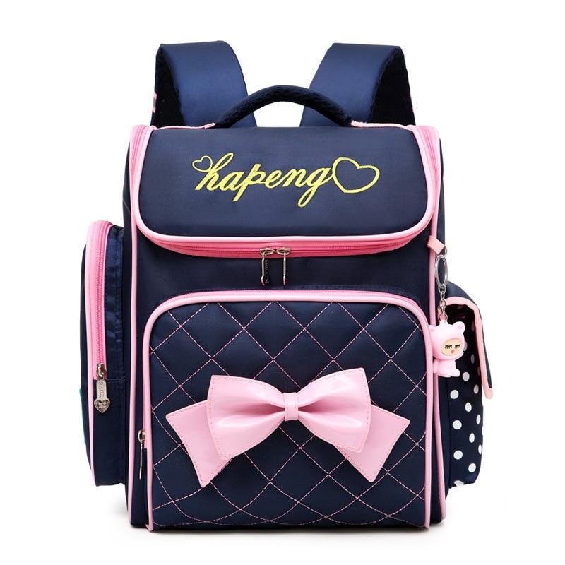 New Girls School Bags Orthopedic Backpacks Children Kids Satchels 6-9Y Primary School Backpacks Girls Knapsack Mochila Escolar