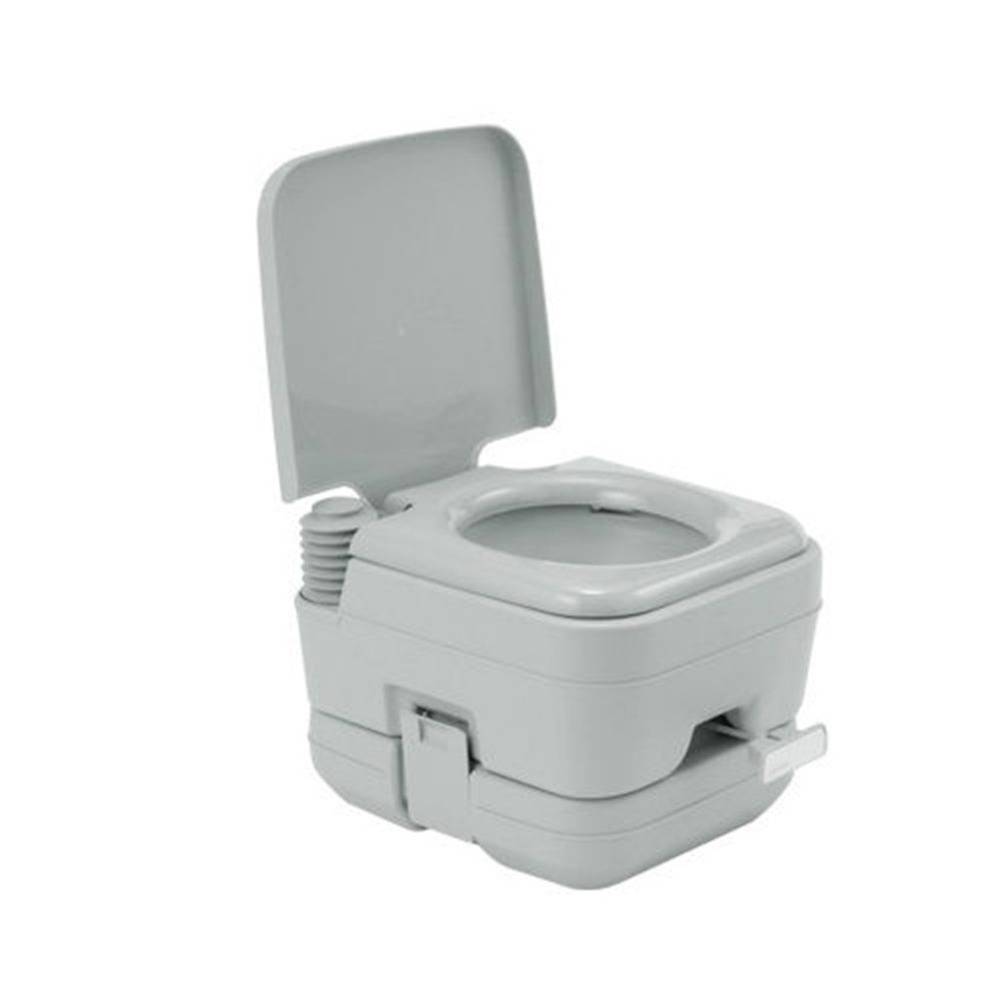 10L Square Flushing Potty For Camping RV Boat Portable Outdoor Toilet Chemical Loo Bathroom Accessories Sets