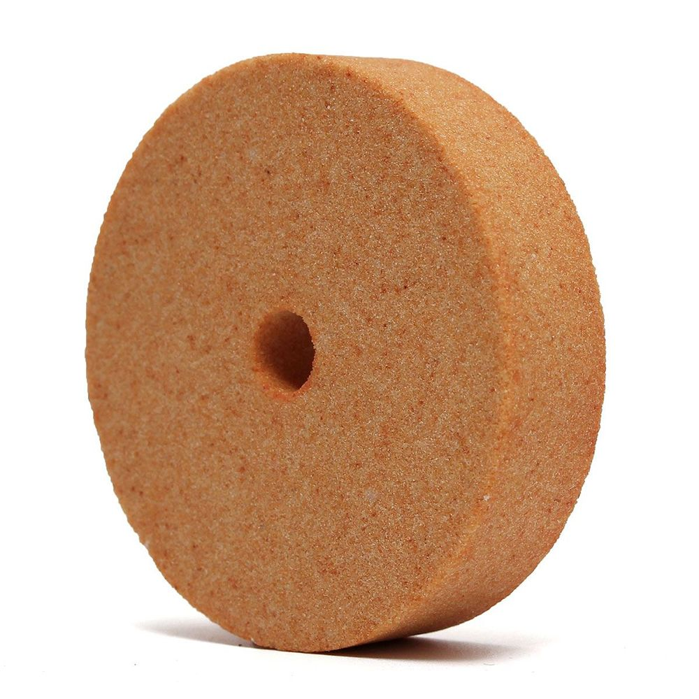 Top Selling 75*10*20mm 3 Inch Polishing Grinding Stone Wheel For Bench Grinders Metal Working High Quality