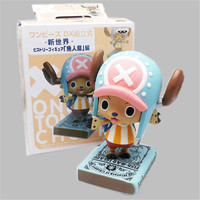 1pc/lot One Piece Action Figures Chopper Figures Book Ver. Tony Chopper Doll PVC ACGN figure Toy For Kids Brinquedos Anime 14cm