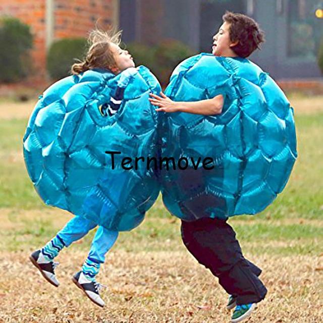 Dpt dipakai Tubuh Gelembung Zorb Sepak Bola Sesuai untuk anak-anak, anak-anak permainan bola untuk acara outdoor, meledakkan bola, tubuh Tiup Bumper Udara