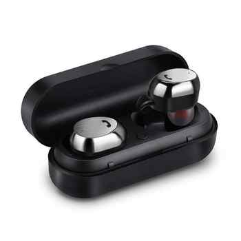 M9 TWS True Wireless Earbuds Micro Earpiece Mini Twins Headset Stereo Ear Bluetooth Earphone Headphones with Box #1115 - DISCOUNT ITEM  25% OFF All Category