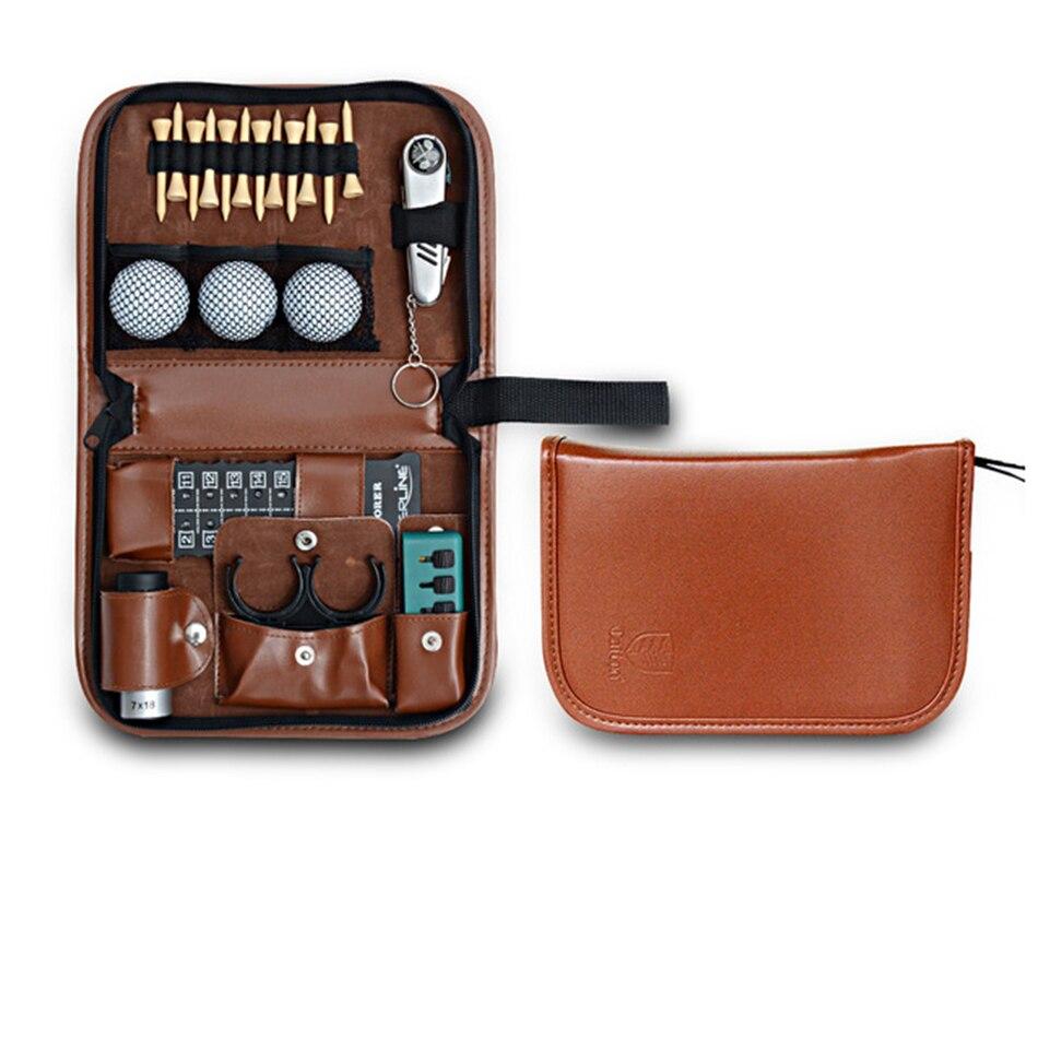 Outdoor Golfers Gift Set Waterproof dermis Tool bag Golf multifunction bag free shipping