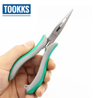 ProsKit PM 712 Electronic Cutting Pliers Precision Long Nose Plier Cable Cutter Pliers Hand Tools 155mm