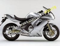Лидер продаж, обтекателя Для KAWASAKI Ninja 650R ER 6f 650 R ER6f 06 07 08 ER 6f 2006 2007 2008 Ninja 650R обтекатель