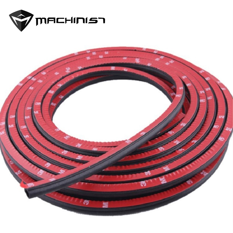2/4/6/8 Meter D Type Door Seal Car Sound Insulation 3M Car Door Sealing Strip Rubber Weatherstrip Edge Trim Noise Insulation