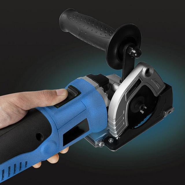 Tenwa 500W portable Circular Saws Household Desktop Multifunction Handheld Woodworking / Metal / TCT / HSS mini Power Tools Saws 3