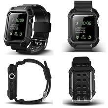 Резиновый ремешок из ТПУ для наручных часов защитный чехол iwatch