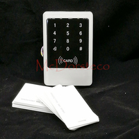 Metal IP65 Waterproof Access Control 125KHz RFID Card Reader Touch Keypad With 10 Card For Door