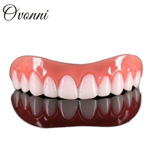Perfect Instant Smile Comfort Fit Flex Teeth Whitening Denture Paste