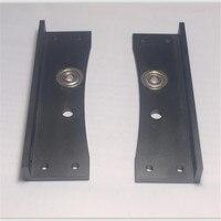 Funssor aluminum alloy frame top corners kit left corner+right corner set For Reprap Lulzbot TAZ 3D printer upgrading