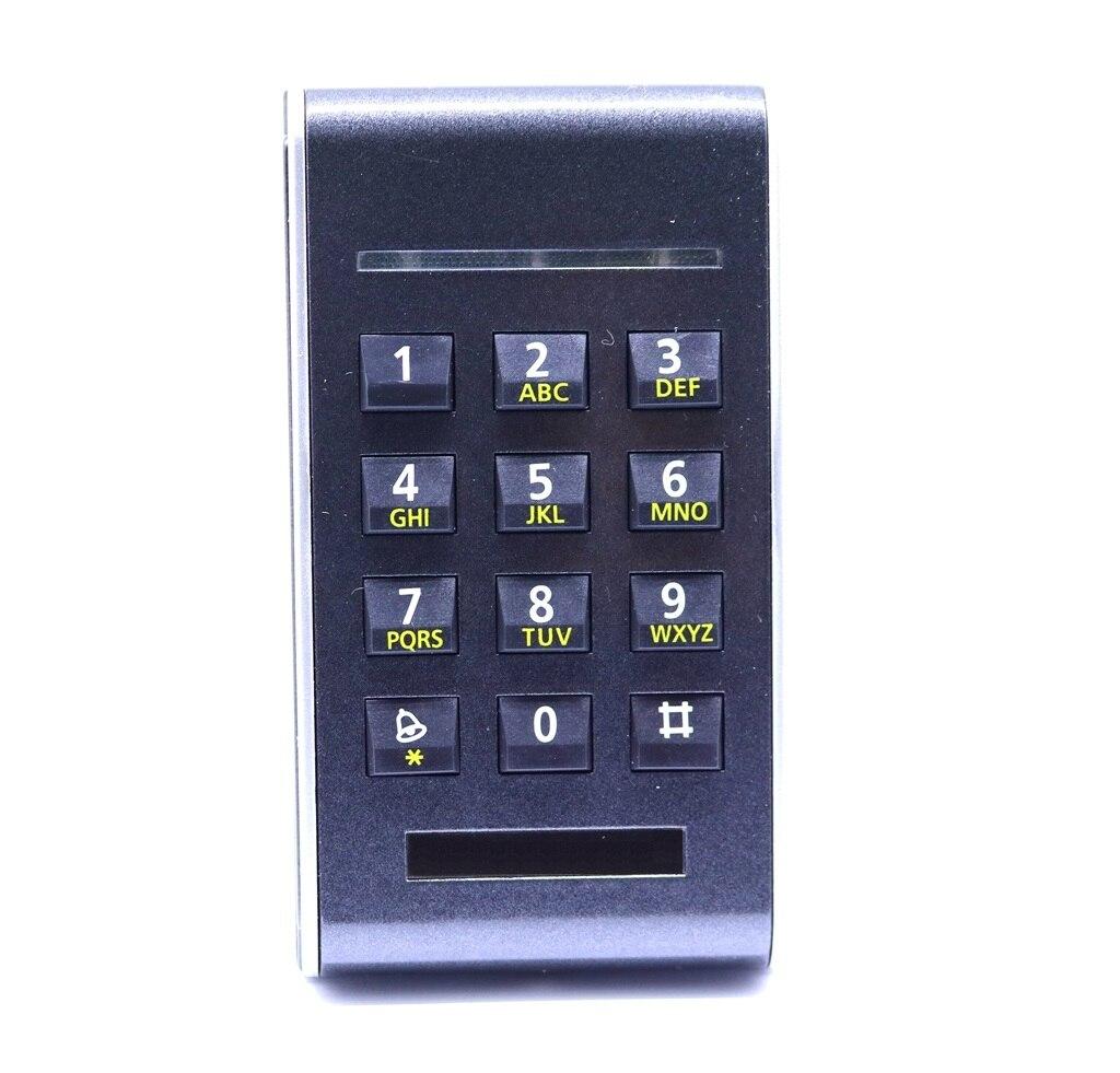 M-206E RFID 125Khz EM4100 card Standalone Access control keypad+5piece ID Keyfob 5piece 100