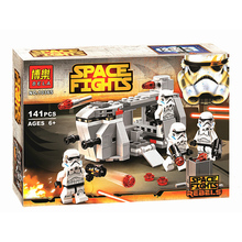 Bela STAR WARS Royal Army Transport Aircraft Clone Troops Mini Building Blocks Figures Bricks Toys Compatible With Legoings