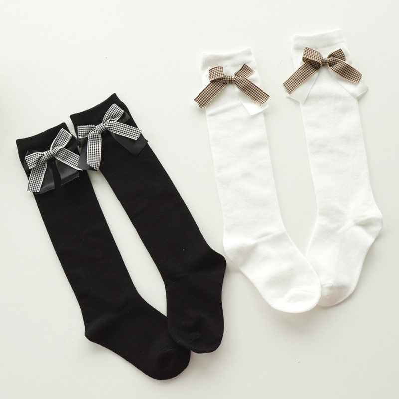 Girl Socks 3-10 Years Old Cotton New Summer Korean Version Knee High Long Tube Princess Children's Knee Socks Kids Dance Socks