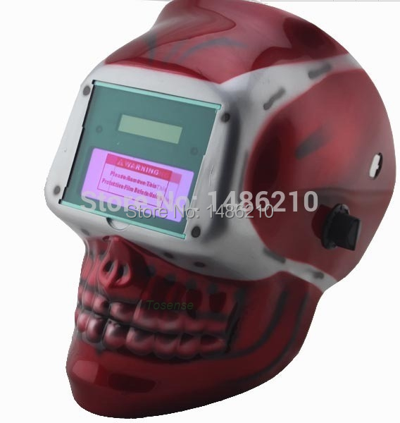 welding mask welder cap Chrome Brushed free post electric welder mask welder cap for welding equipment chrome free post