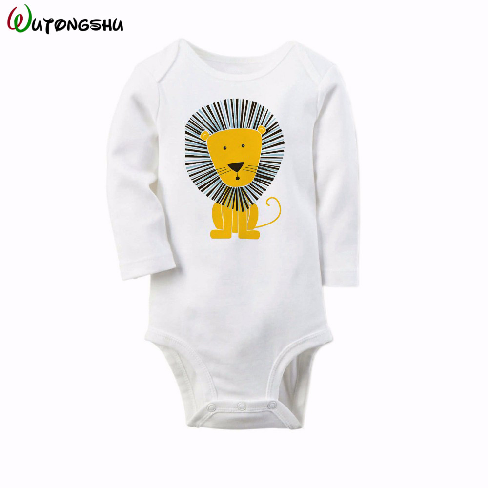 Brand Animal Newborn Baby Clothes 100% Cotton Baby Rompers Long Sleeve Baby Girls Boys Clothes Roupas De Bebe Infantil Costumes newborn baby clothing spring long sleeve cotton baby rompers cartoon girls clothes roupas de bebe infantil boys costumes