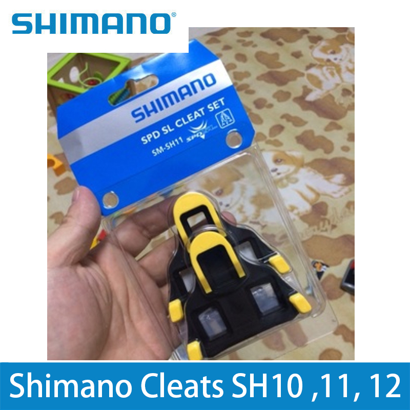 7ecf7a079 SHIMANO Cleats SH10 SH11 SH12 SPD Road Pedal Cleats SPD SL 0 2 6 Degree  Dura Ace For Road Cycling Shoes Lucky Crazwind Hot Sell-in Bicycle Pedal  from Sports ...