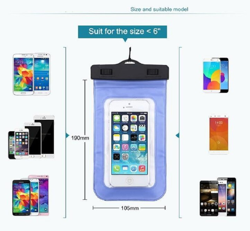Dry-Bag-Universal-Waterproof-Case-High-Clear-pouch-bag-For-Iphone-X-10-8-7-Plus