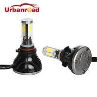 2pcs 12V H4 80w Led Car 8000lm H11 H7 H1 Led Headlight Bulbs 2016 H4