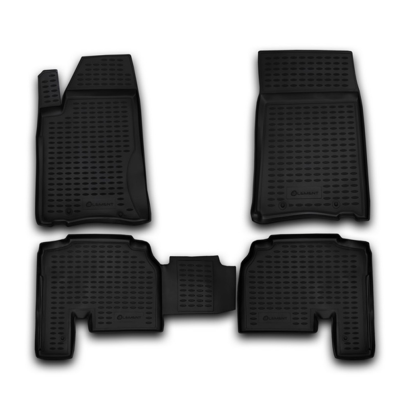 цена на Mats in the salon For SSANG YONG Actyon Sports 2012-> 4 PCs (polyurethane)