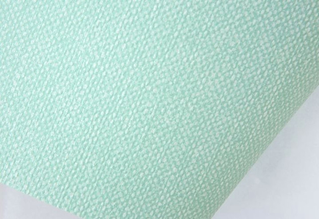 DS Korea wallpaper Wallpaper / green plain paper 16.5 meters Large / mint green solid wove 298
