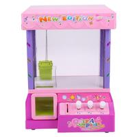 Electronic Claw Arcade Crane Mini Street Game Machine Bright LED Lights Music Sounds Doll Grabber
